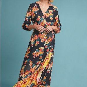 Farm Rio Loretta Wrap maxi dress